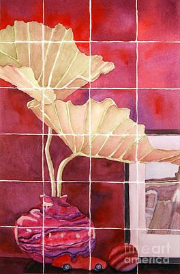 Still Life With Grid Art Print by Gwen Nichols