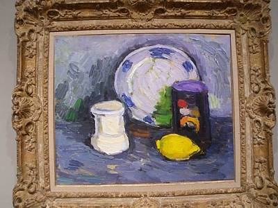 Painting - Still Life With Lemon by Georg Ivosevic