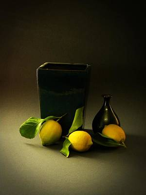 Photograph - Still Life With Lemons by Frank Wilson