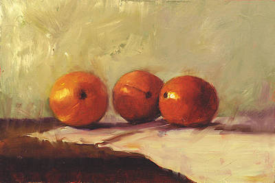 Painting - Still Life With Oranges by John Reynolds