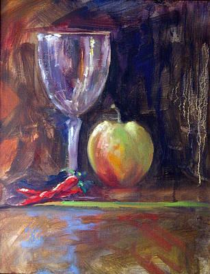 Still Life With Pepper Art Print