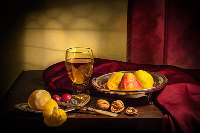 Photograph - Still Life With Roemer-pears by Levin Rodriguez