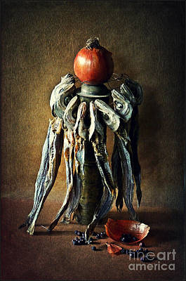 Photograph - Still Life With Stockfish by Binka Kirova