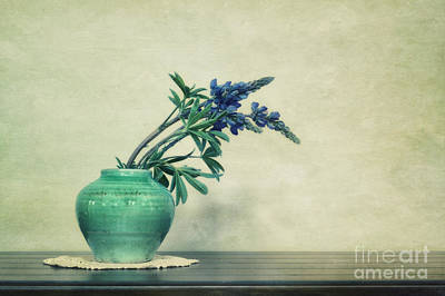 Simplicity Photograph - Still Life With Yukon Lupines by Priska Wettstein