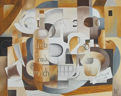 Painting - Still Life Wth Skulls by Joseph York