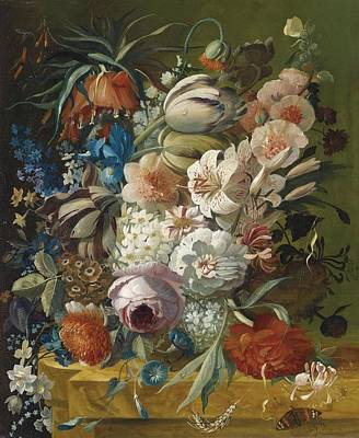 Still Lifes With Flowers C1770 Original