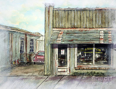 Historic Franklin Tennessee Painting - Still Makin' Memories by Tim Ross