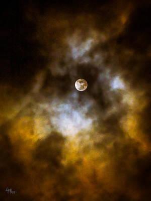 Photograph - Still Moon by Glenn Feron