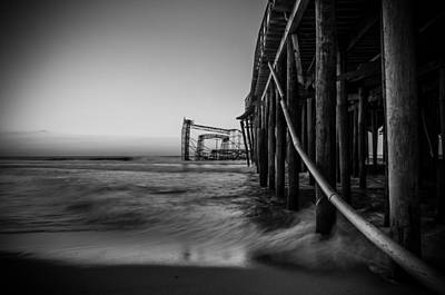 Seaside Heights Photograph - Still Need A Ticket To Ride by Kristopher Schoenleber