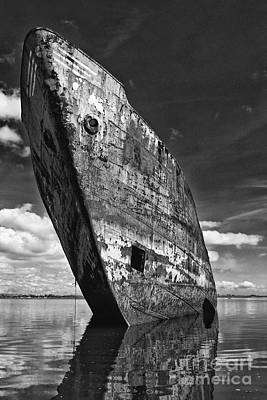 Shipwreck Photograph - Still Proud by Jose Elias - Sofia Pereira