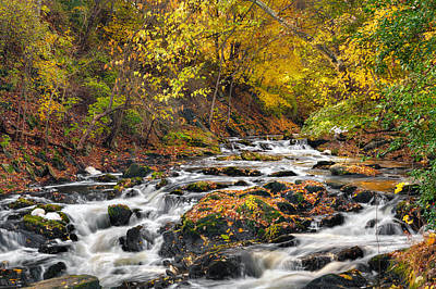 Litchfield County Landscape Photograph - Still River Rapids by Bill Wakeley