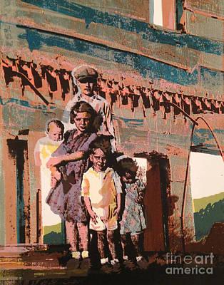 Wall Art - Painting - Still Standing by Ellen Moore Osborne