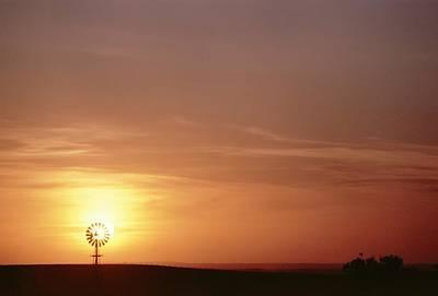 Photograph - Still Sunset by HW Kateley