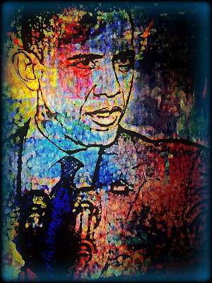 Barack Obama Mixed Media - Still The One by Wendie Busig-Kohn