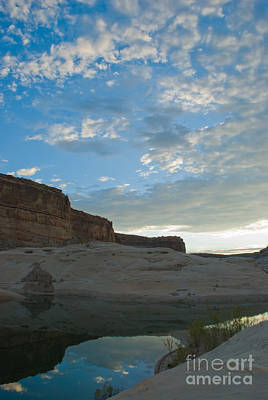 Photograph - Still Water And Cliffs by Kate Sumners