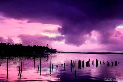 Photograph - Still Water Dusk by Wallaroo Images