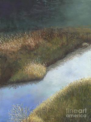 Still Water Art Print by Ginny Neece