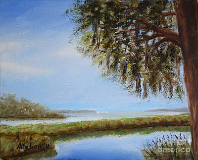 Painting - Still Water by Stanton Allaben