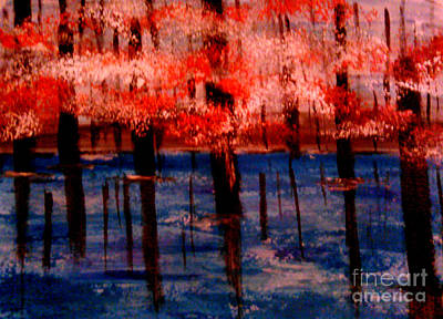 Painting - Still Waters by Lori  Lovetere