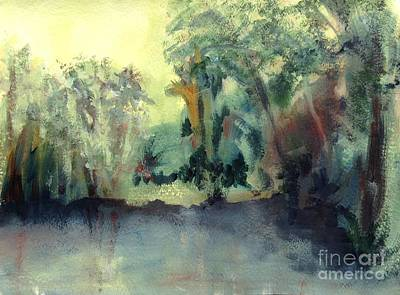 Painting - Still Waters by Mary Lynne Powers