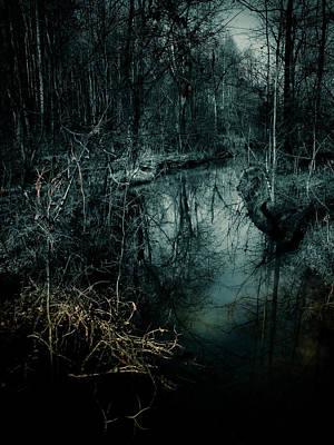 Still Waters Run Deep Art Print by Jessica Brawley