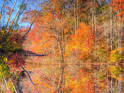 Photograph - Still Waters Upside Down Mounting by JC Findley