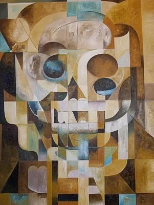 Painting - Stillleben Mit Totenkopfen by Joseph York