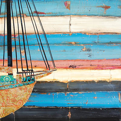 Boat Mixed Media - Stillness by Danny Phillips