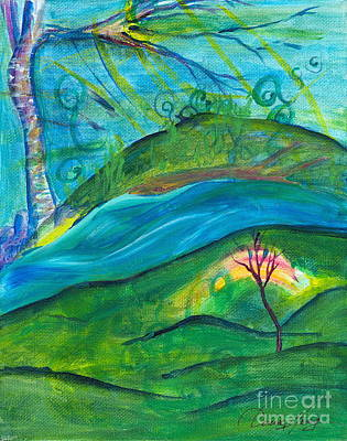 Painting - Stillness by Denise Hoag