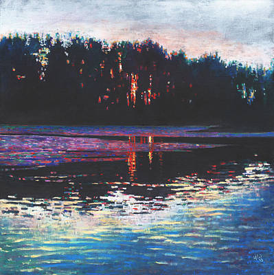 Painting - Stillness In The Midst by Helen White