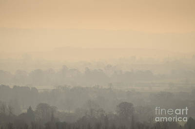Stillness Over The Oxfordshire Countryside Art Print by OUAP Photography
