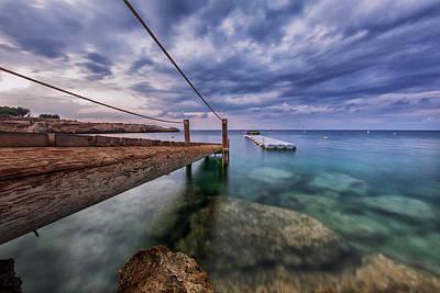 Evening Scenes Photograph - Stillness by Stelios Kleanthous