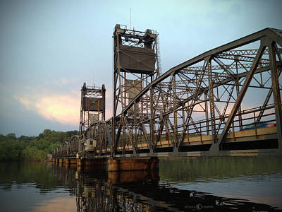 Photograph - Stillwater Lift Bridge by Tim Nyberg