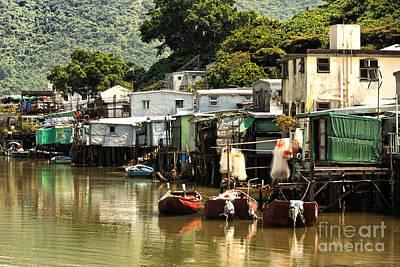 Hong Kong Photograph - Stilt Homes 4 by Mark Baker