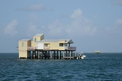 Photograph - Stilt House-modern by Bradford Martin