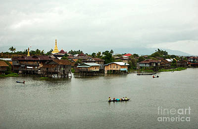 Photograph - Stilt Houses And Pagodas by RicardMN Photography