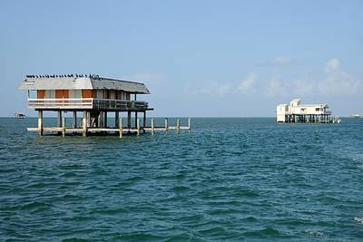 Photograph - Stilt Houses-biscayne Bay by Bradford Martin