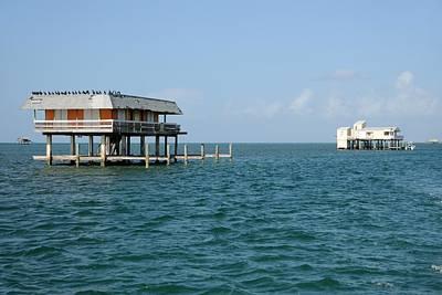 Photograph - Stilt Houses-biscayne Bay by Bradford Martin
