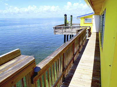 Florida House Photograph - Stiltsville View by Carey Chen