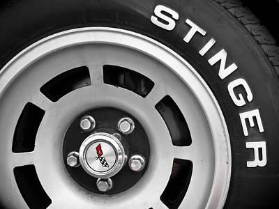 Photograph - Stinger - Corvette by Colleen Kammerer
