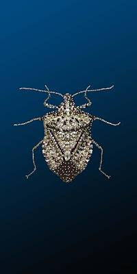Digital Art - Stink Bug I Phone Case by R  Allen Swezey