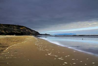 Stinson Beach  California  Art Print by Frank Molina