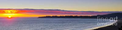 Stinson Beach Sunset Art Print