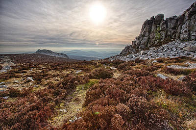 Photograph - Stiperstones National Nature Reserve by Bob Kemp