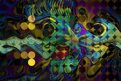 Digital Art - Stippler by Kiki Art