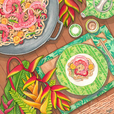 Painting - Stir Fry  by Tammy Yee