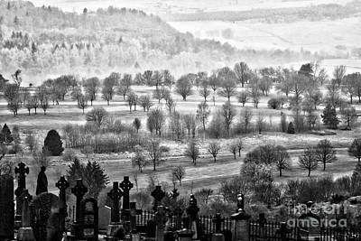 Photograph - Stirling Castle Cemetery by Kate Purdy