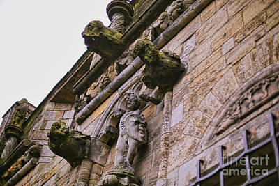 Photograph - Stirling Castle Detail by Kate Purdy