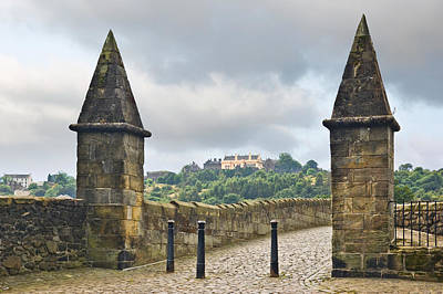 Photograph - Stirling Castle From The Old Bridge by Jane McIlroy