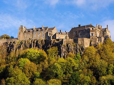 Wild Weather - Stirling Castle by Mark Llewellyn